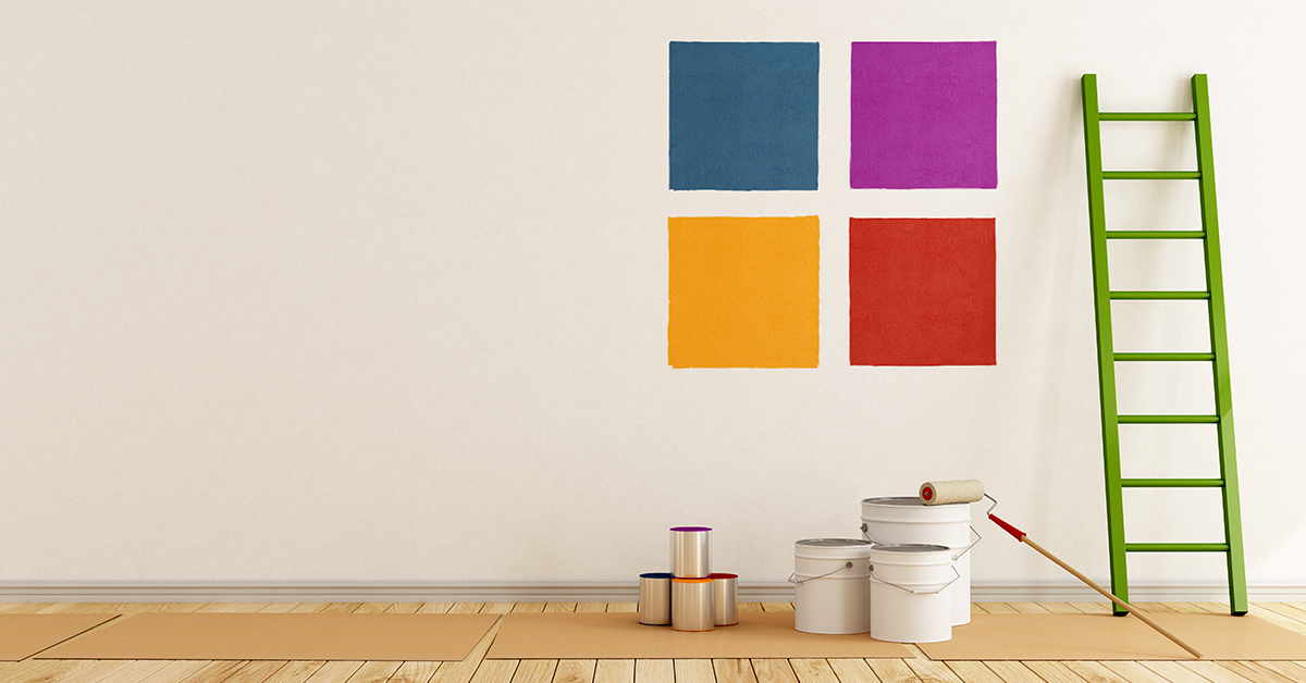 Wall Colour Samples