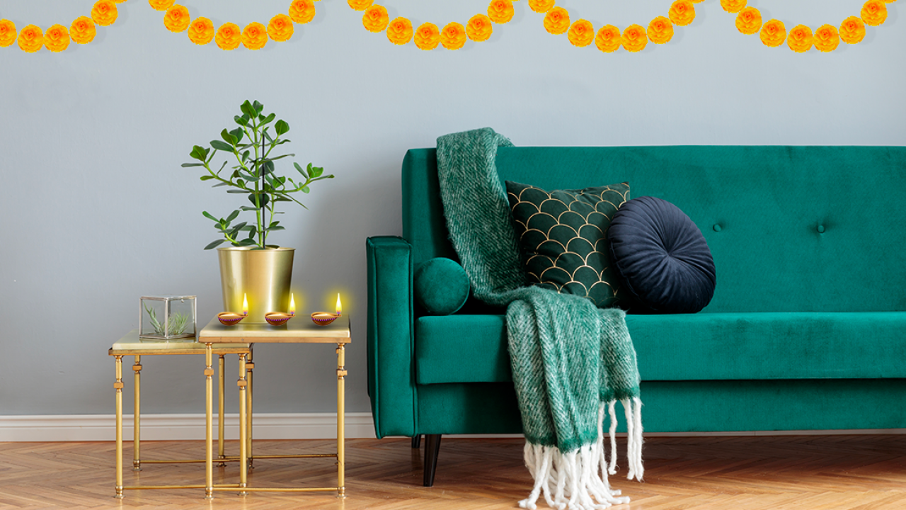 8 Quick And Easy Diwali Decor Ideas Berger Blog