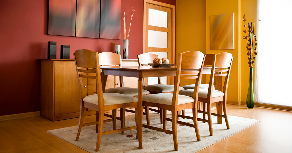 Dining Room Colour Combination