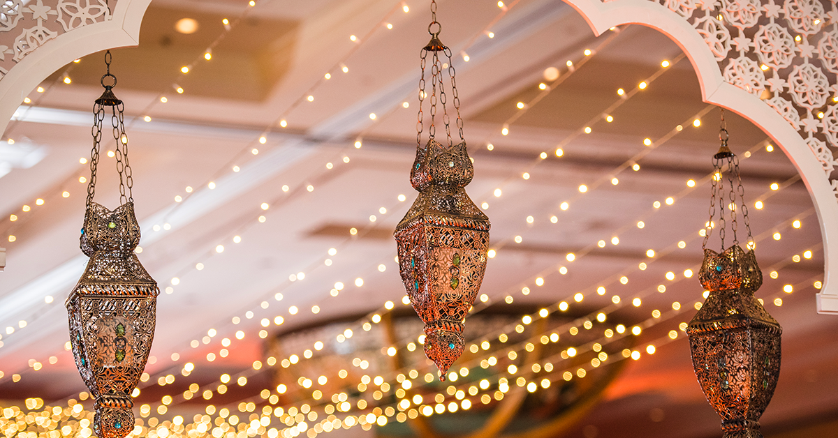 Decorating with Fairy Lights