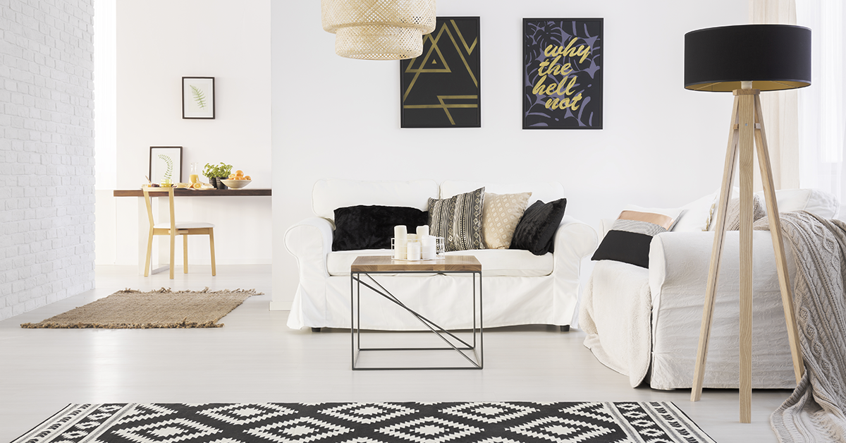 Home Décor with Purple and Black