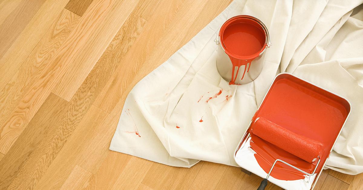 Red Colour Paint