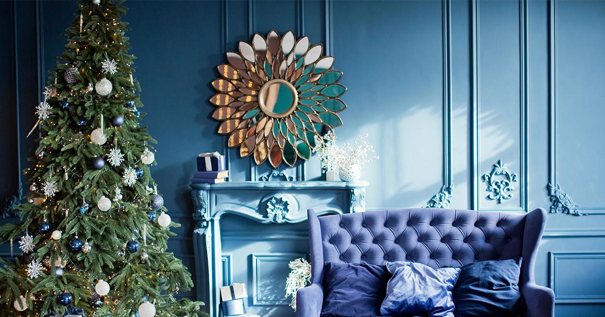 Christmas wall colour