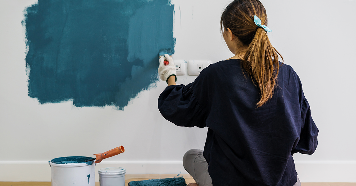 DIY Home Wall Painting
