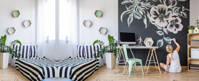 Modern Wall Colour Designs & Ideas