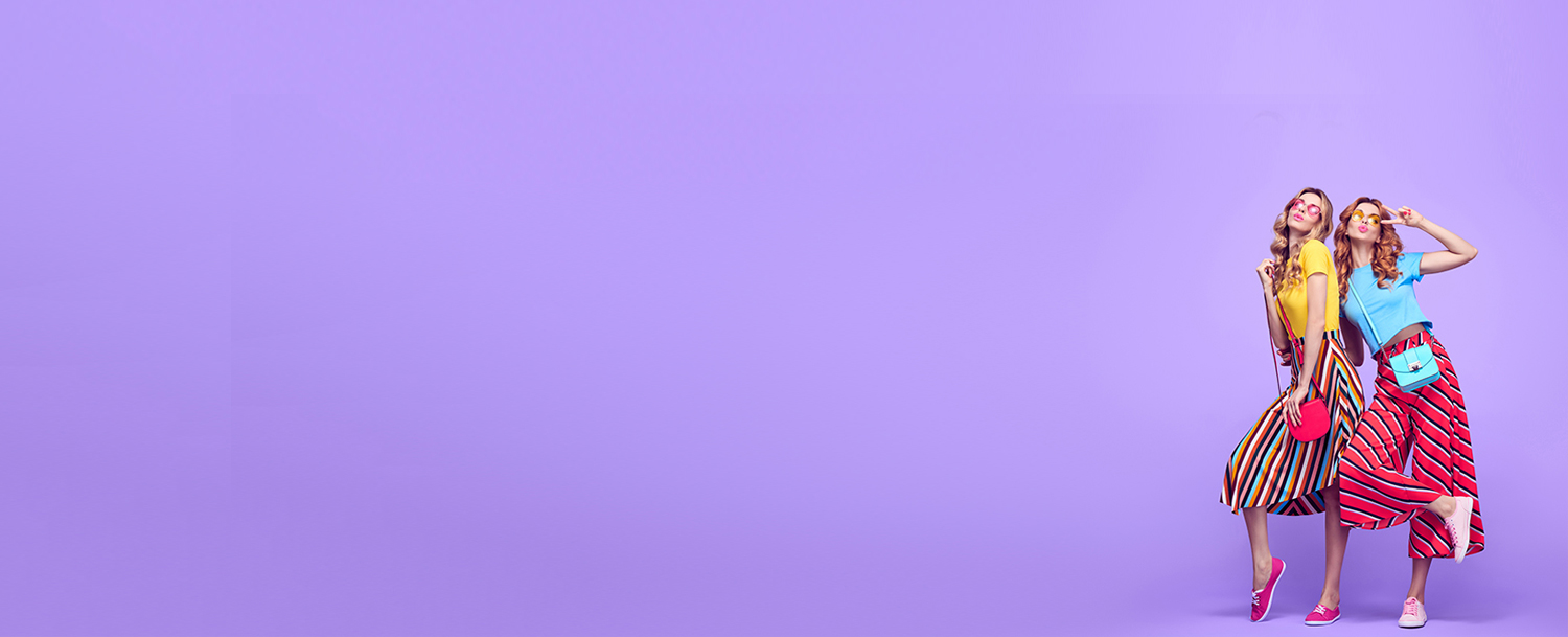 Colours  Fashion Banner