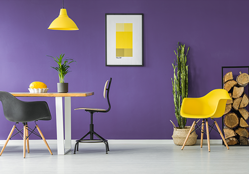 Complementary Colour Painting Ideas