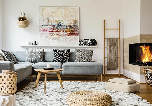 Living Room Design Patterns Images