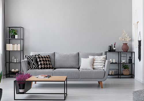 Grey Wall Paint for Living Room