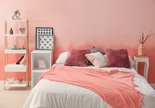 Romantic Colours for Bedroom