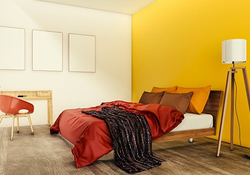 Yellow Wall Colour Combination