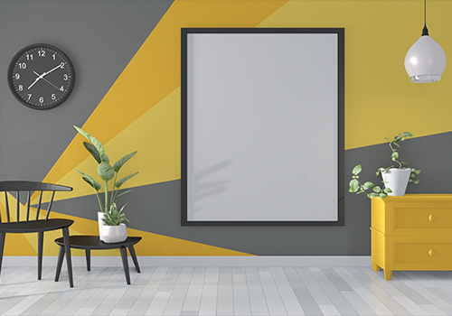 wall painting designs for hall