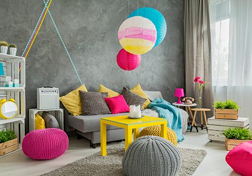 Living Room Colour Combination Ideas