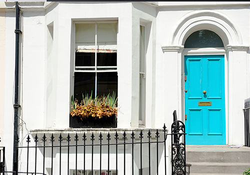 Colour for door paint