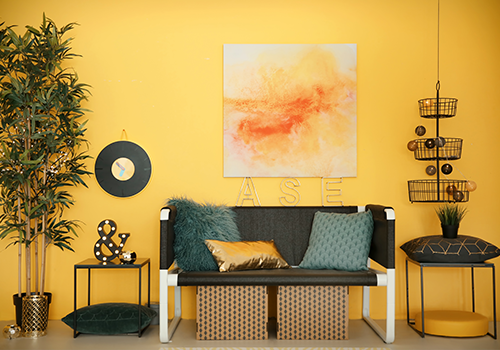 Interior Wall Paint Yellow Shades Images