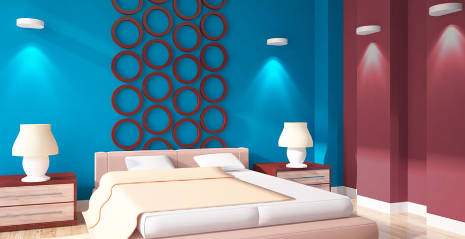 Wall Painting Colour Combination Ideas Designs For Interior