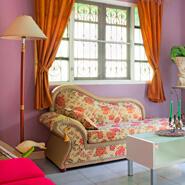 Violet Colour Design Ideas For Interior Wall Paint
