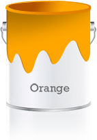 Orange Shades orange colour shades & orange color schemes for interior walls