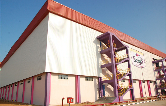 Berger Paints Hindupur Project