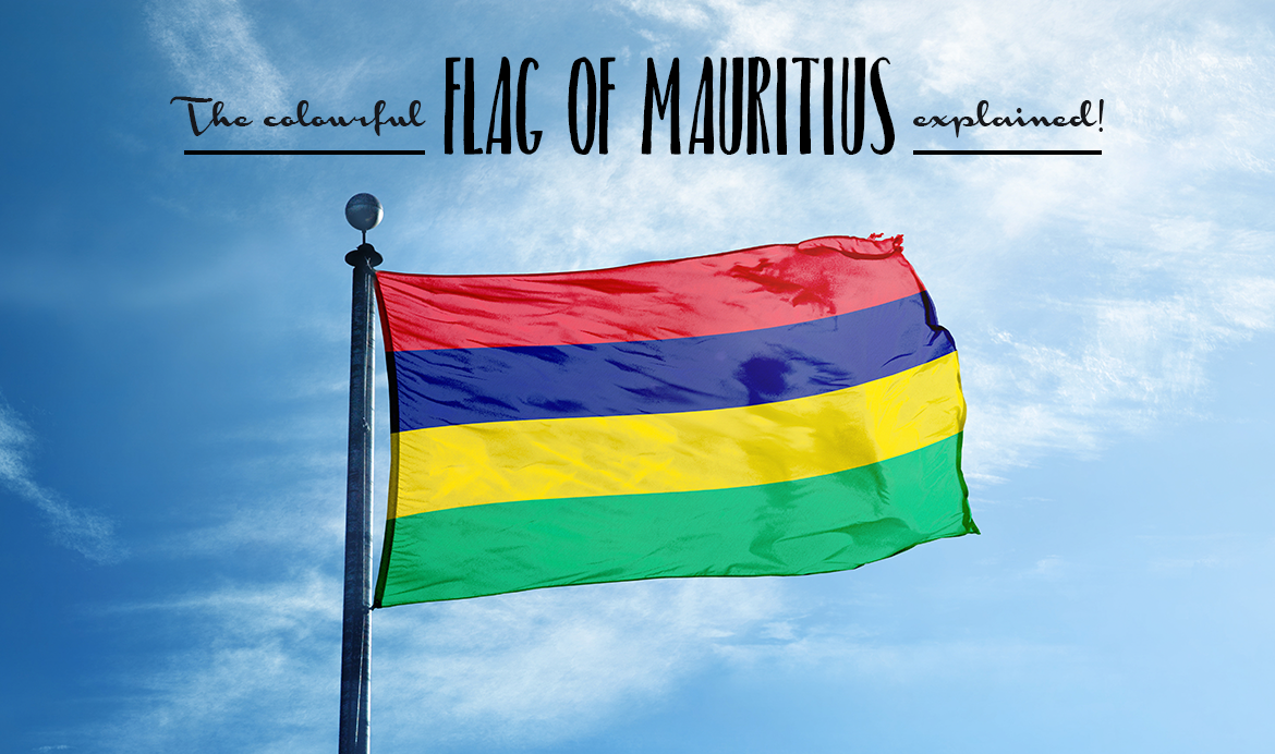 The Flag of Mauritius