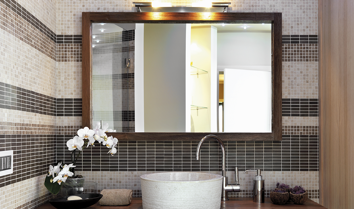 large mirror in bathroom small bathroom decorating ideas berger 19100