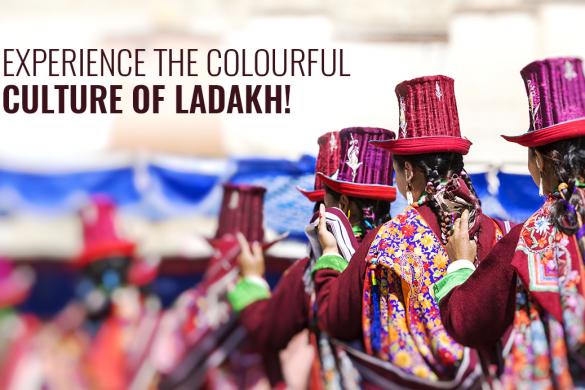 Galdan Namchot festival of Ladakh