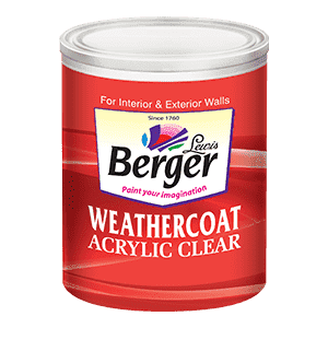 WeatherCoat Acrylic Clear
