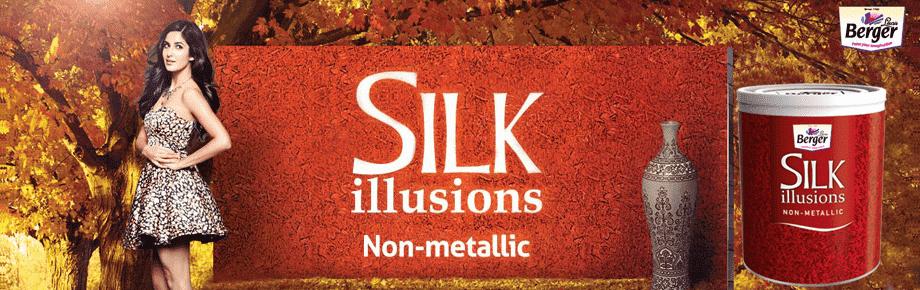silk illusions non metallic paint berger paints