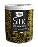Silk Illusions Design Metallica