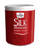 Silk Illusions Marble Finish