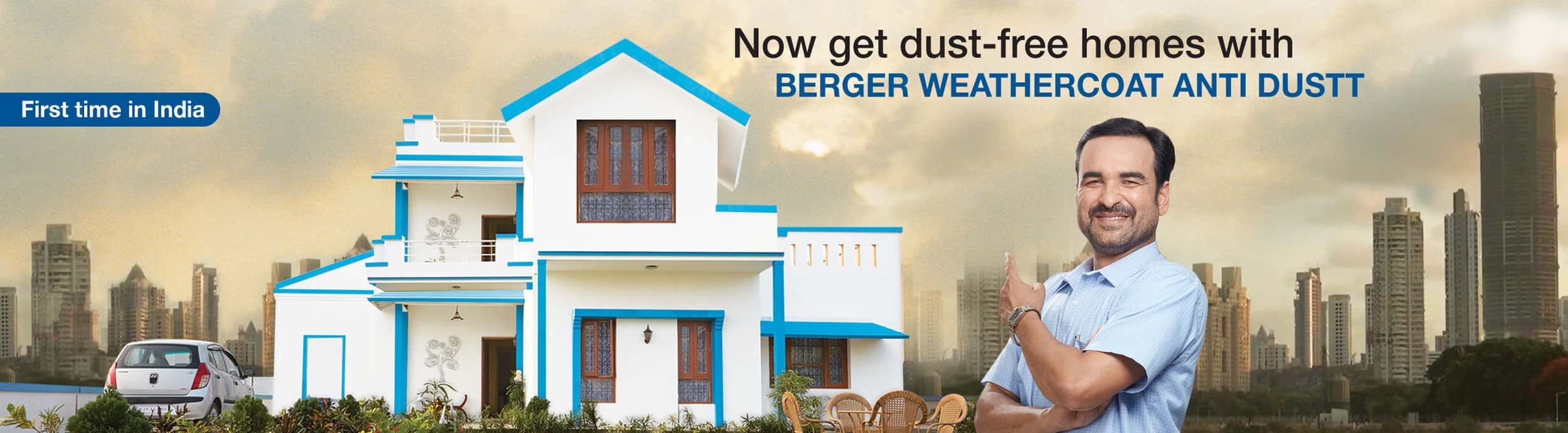 Weathercoat Anti Dust Paint And Guard Exterior Emulsions Berger Paints