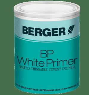 Bp White Primer Wt Interior Wall Primer Undercoats Paints Berger Paints