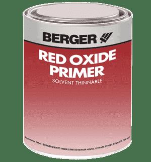 Red Oxide Primer Metal Primer Undercoats Paints Berger Paints